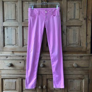 Lilly Pulitzer 00 Worth Skinny Pants Pink